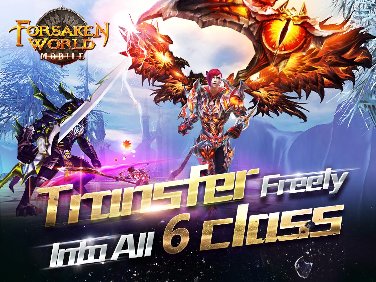 Forsaken World Mobile MMORPG 1 3 0 APK + OBB (Data File