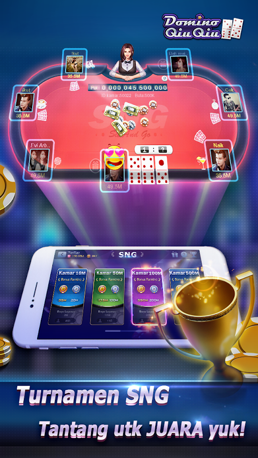 Domino QiuQiu 99(KiuKiu)-Top qq game online 1.5.5 APK