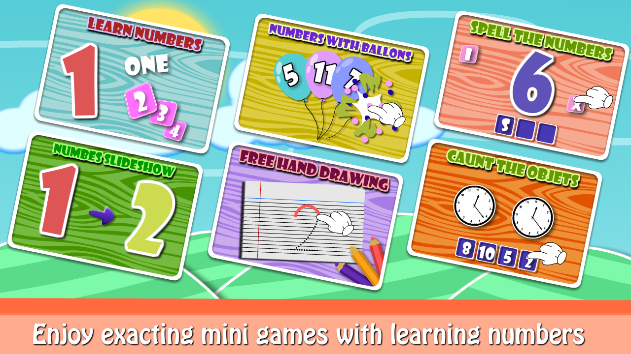 Numbers fun for playgroup kids 1 2 APK Download Android