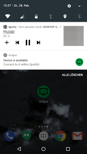AirSpot - AirPlay + DLNA for Spotify (no root) 1 4 APK Download