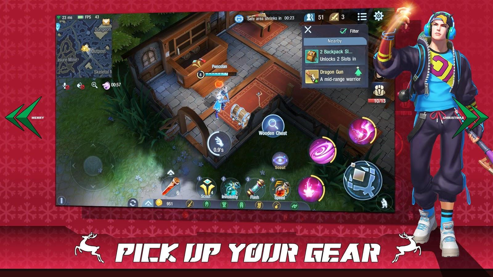 Survival Heroes Moba Battle Royale 1 4 1 Apk Obb Data File