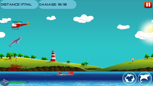 Angry Shark 1.0.4 screenshot 4