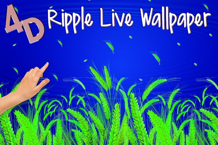 4d ripple live wallpaper 1 0 apk