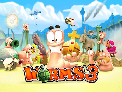Worms 3 2.06 screenshot 1