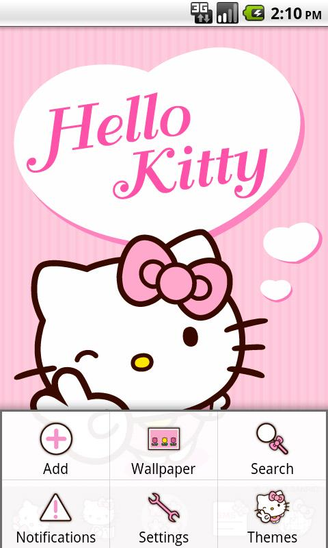 Hello Kitty Pink Heart Theme 1 0 Apk Download Android