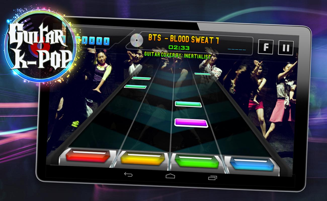 Guitar Hero K-POP Edition (EXO, BTS, etc) 1 0 APK Download - Android