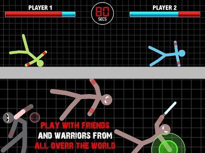 Stickman Fighting Physics Game 1.0 screenshot 4
