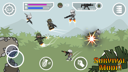 Doodle Army 2 : Mini Militia 5.3.7 screenshot 2