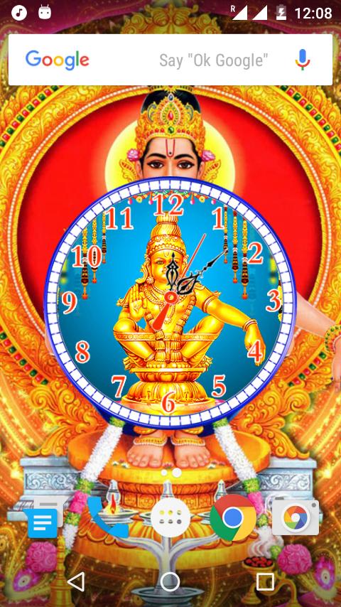 Ayyappa Clock Live Wallpaper 12 Apk Download Android