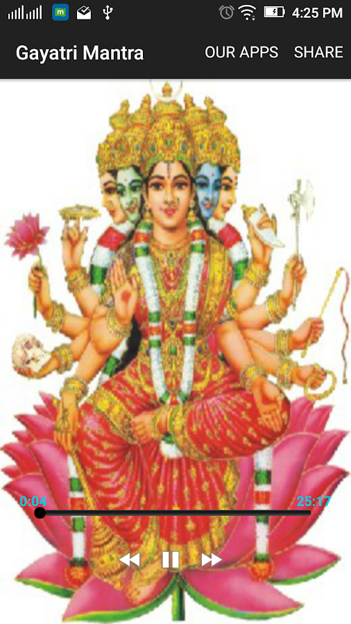 Gayatri Mantra 108 Times - HD Audio 1 2 APK Download - Android Music