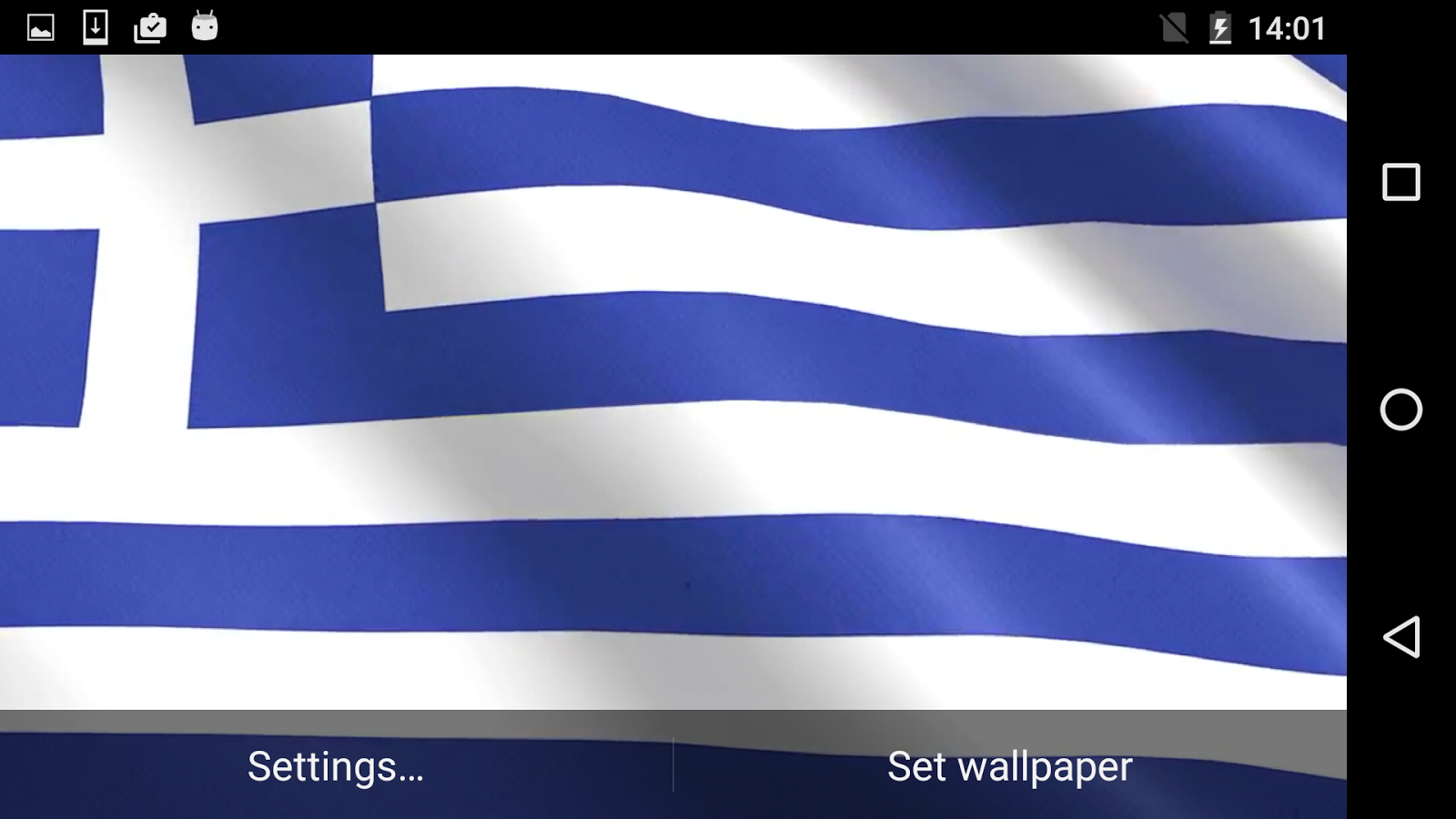 Greece Flag Hd Live Wallpaper 11 Apk Download Android
