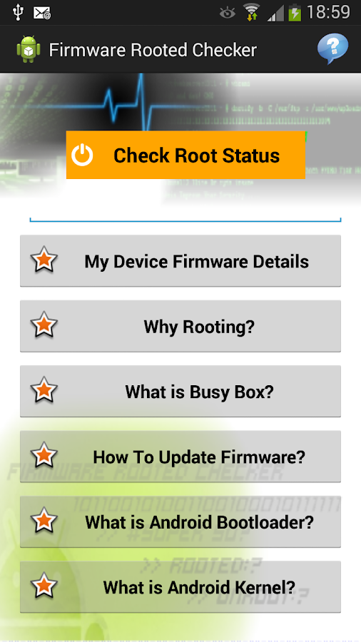 Firmware Rooted Checker 1 9 APK Download - Android Tools Apps