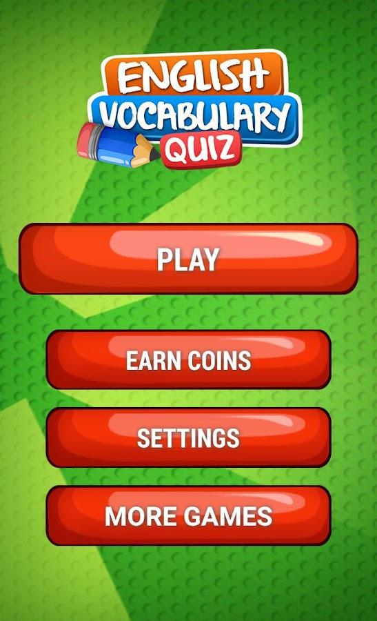 English Vocabulary Quiz lvl 1 7 0 APK Download - Android