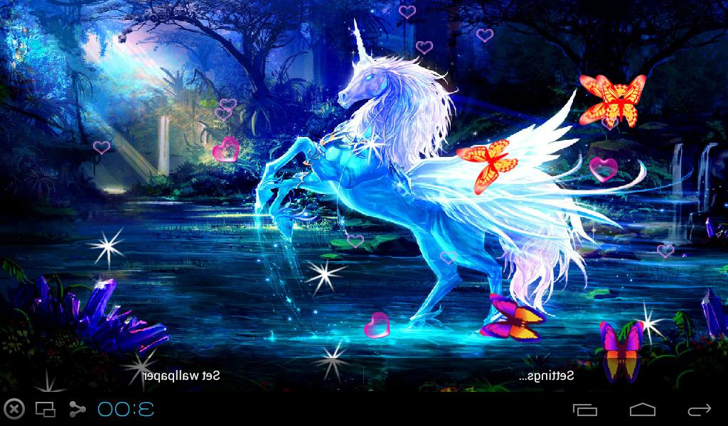 3d Unicorn Live Wallpapers 76 0 Apk Download Android