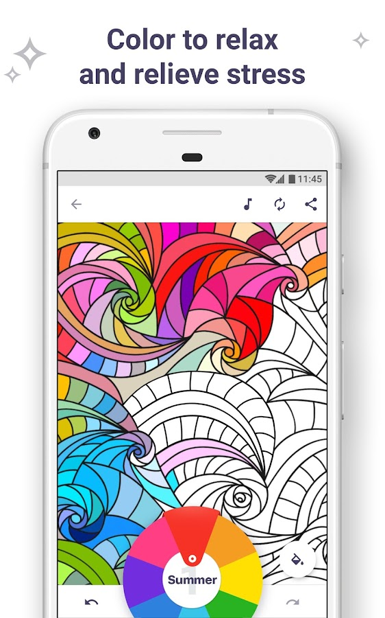 Coloring Book For Me Mandala Screenshot 1