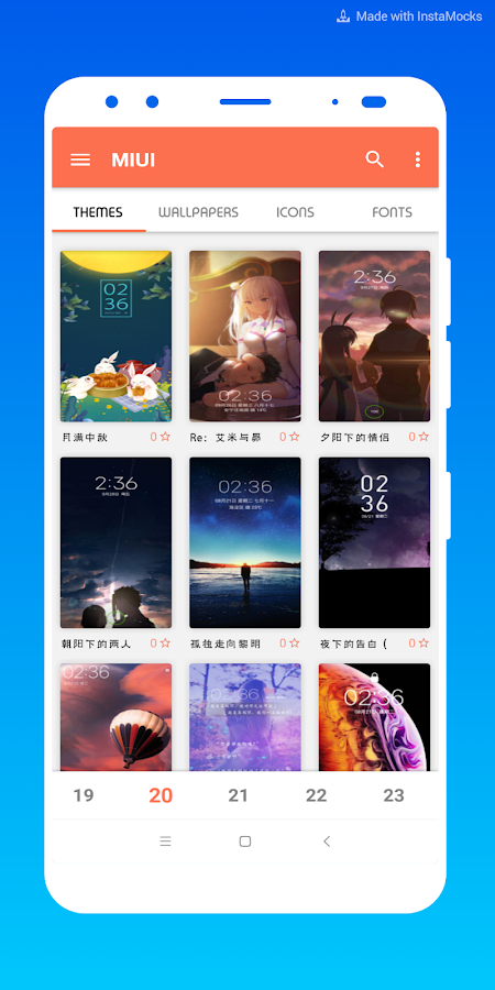 Themes for MIUI 3 0 0 APK Download - Android Personalization