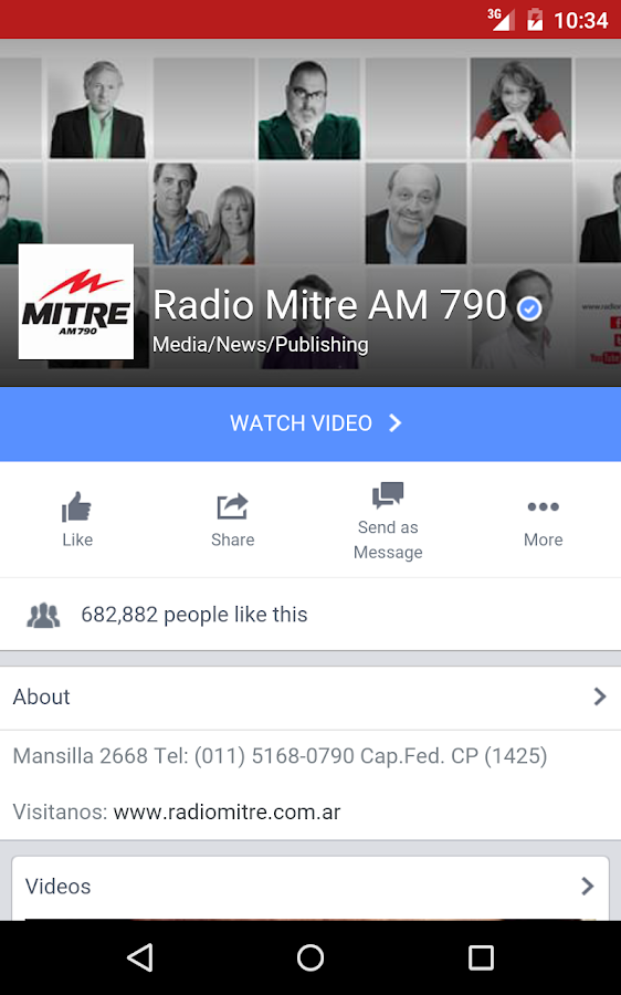 Radio Mitre 790 AM 1 0 5 APK Download - Android Music