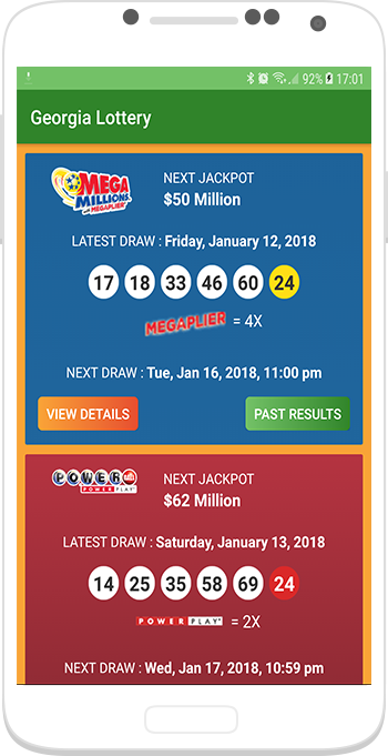 Georgia Lottery Results 1 0 APK Download - Android Entertainment Apps