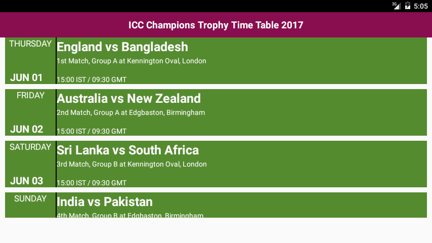 ICC Champions Trophy 2017 10 Screenshot 3