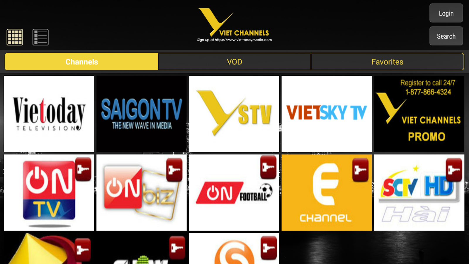 Viet Channels for Android TV 1 6 APK Download - Android