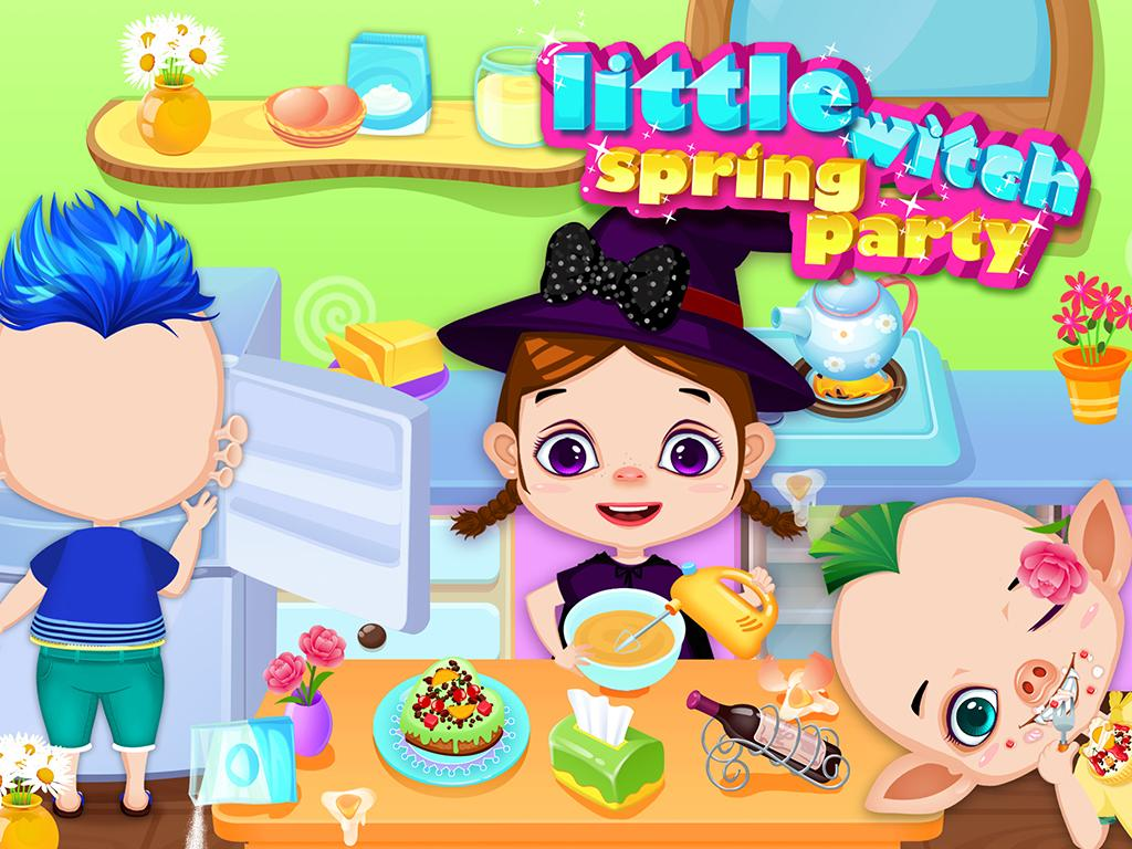 Little Witch Spring Party 1 0 2 APK Download - Android