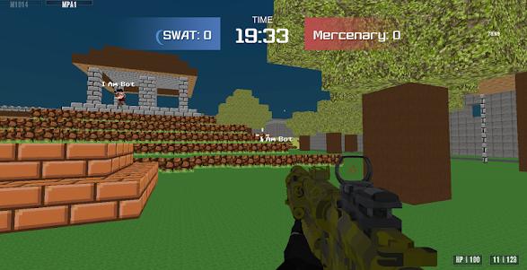Combat Pixel Arena 3D - Fury Man 1.4 screenshot 6