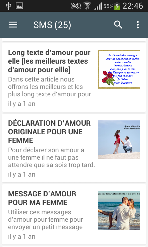 Sms Romantique 40 Apk Download Android Lifestyle Apps