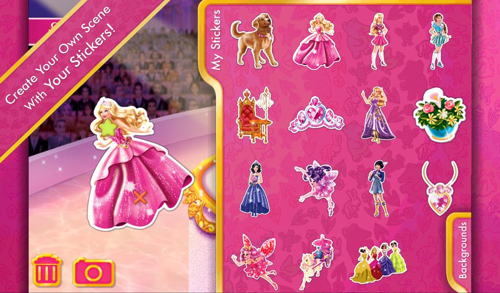 ... Barbie Princess Charm School 1.0 screenshot 8 ...