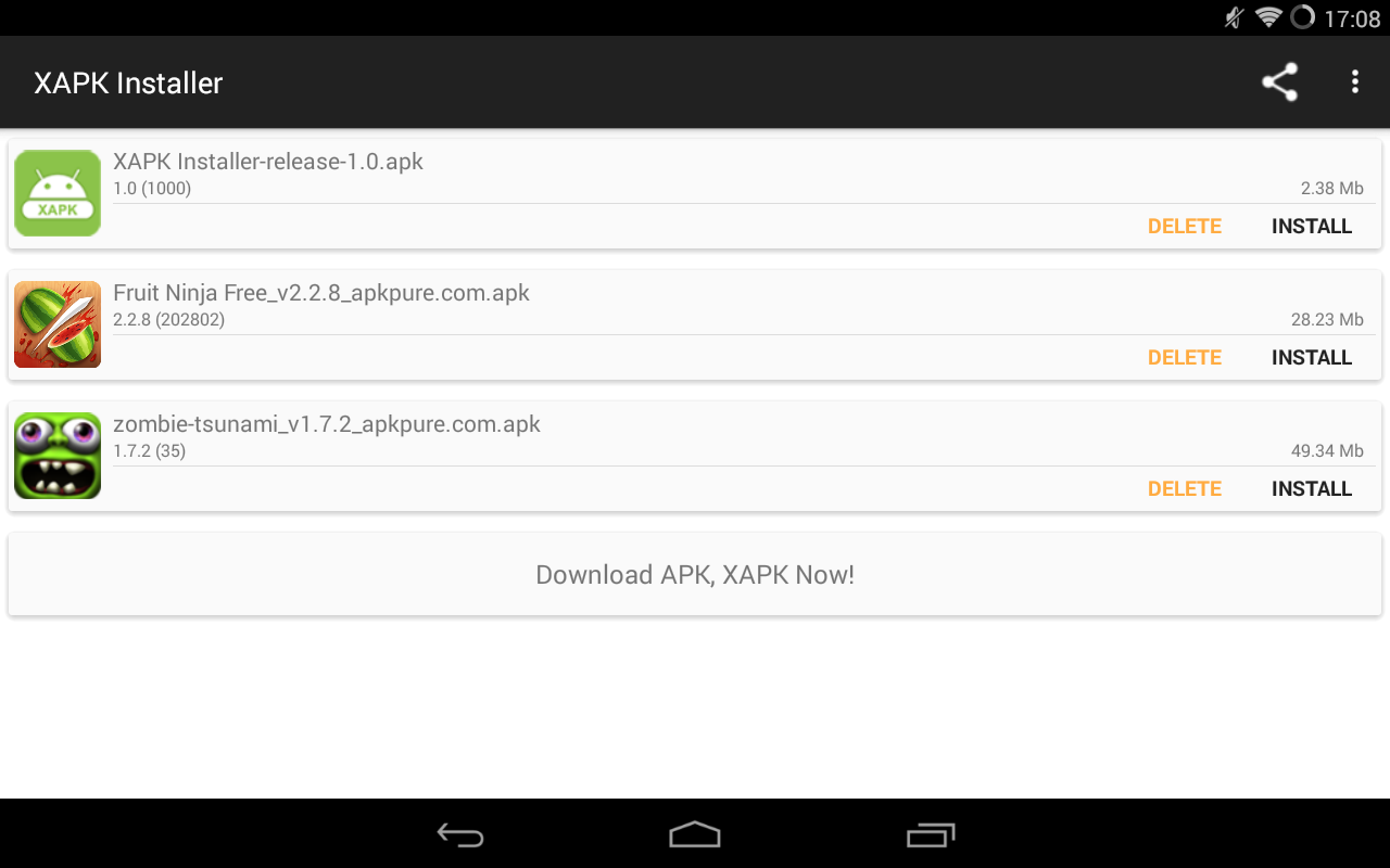 XAPK Installer 1 4 APK Download - Android Tools Apps