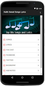 Keith Sweat Songs Lyrics 1.0 screenshot 2