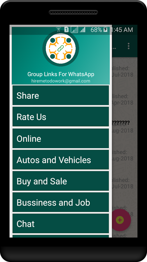 Groups For Whatsapp - Unlimited Links 2018 1 0 APK Download