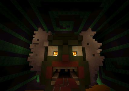 Roller Coaster Minecraft Maps 8.0 screenshot 5