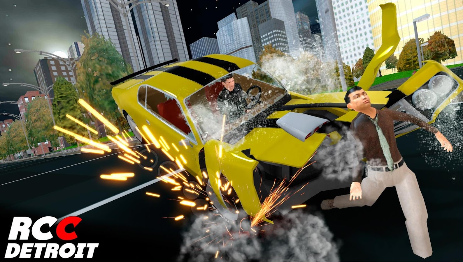 Real Car Crash Detroit 1 0 Apk Download Android Racing Games