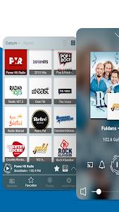 Radio Sverige - Internet Radio and FM Radio 2.2.36 screenshot 1