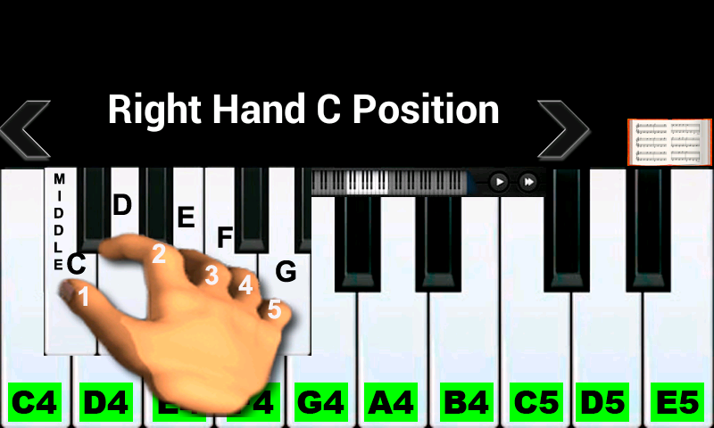 Real Piano Teacher 43 Apk Download Android Music Games