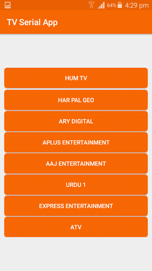 TV Serial App 3 0 APK Download - Android Entertainment Apps