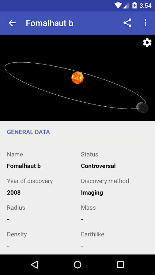 Exoplanets 2 1 1 APK Download - Android Education Apps