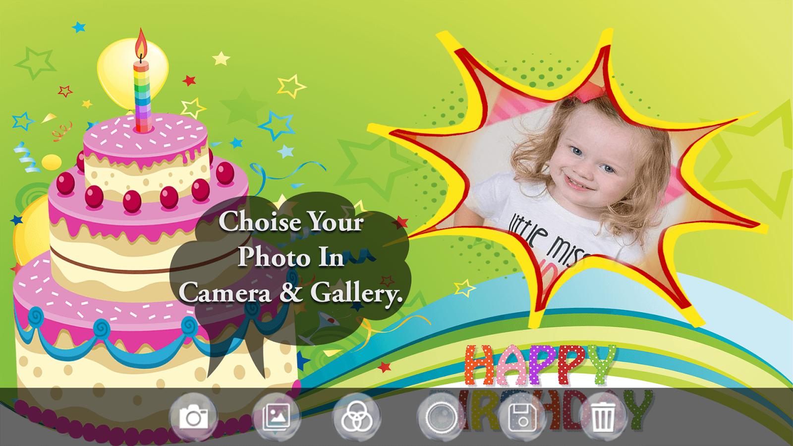 Birthday Cake Photo Frame Birthday Photo Editor 1 1 Apk Download