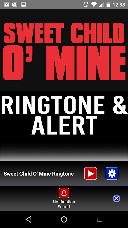 Sweet Child o' Mine Ringtone 1 0 APK Download - Android
