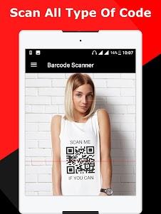 QR code scanner / Barcode scanner 1.2 screenshot 8