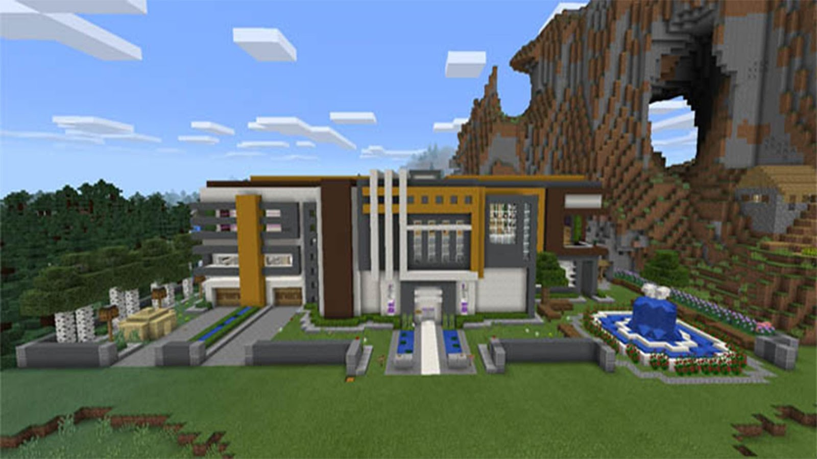 Supper House Map MCPE APK Download Android Entertainment Apps - Minecraft house map download