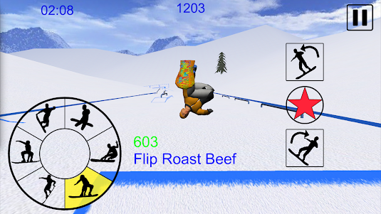Snowboard Freestyle Mountain 1.08 screenshot 1