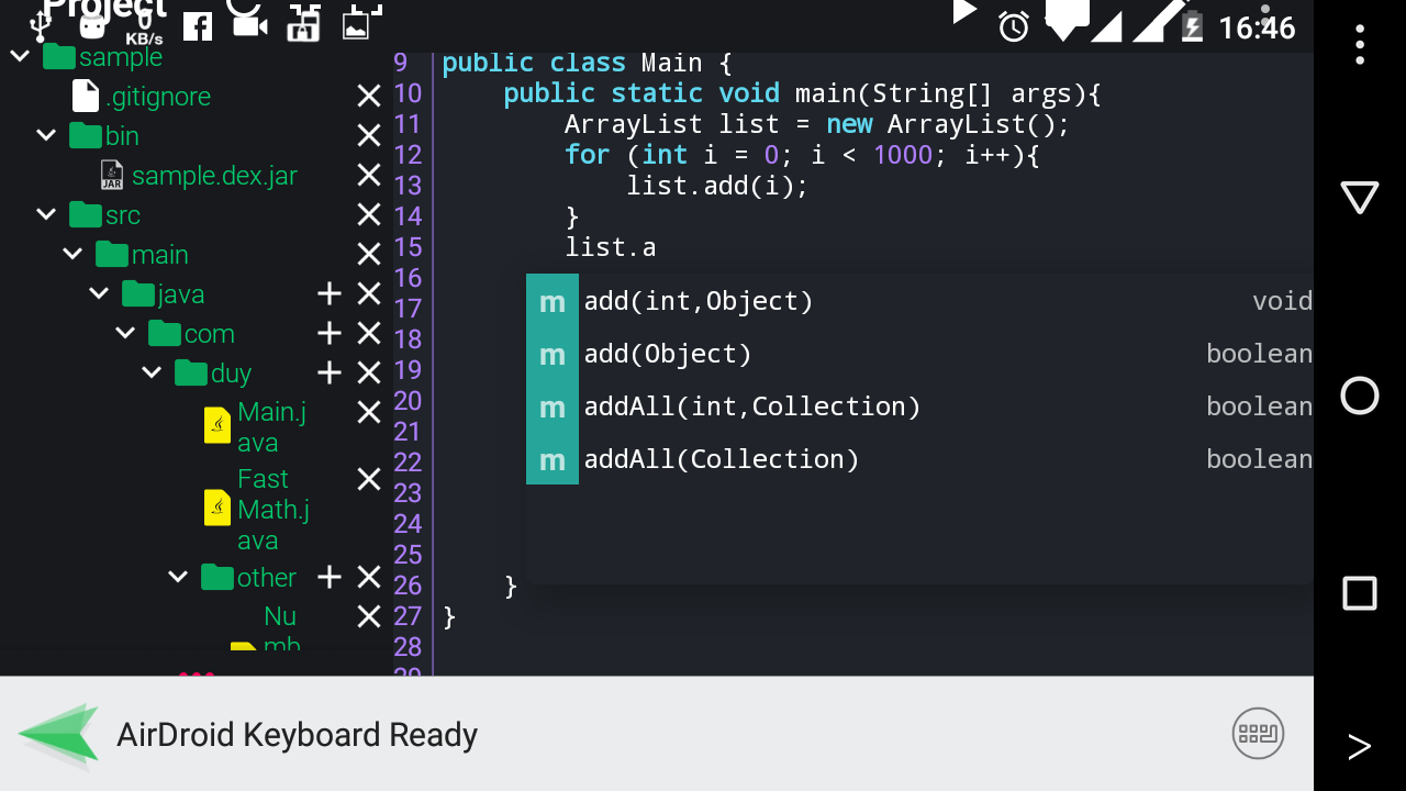 Java N-IDE - Android Builder - Java SE Compiler 1 4 5 APK Download