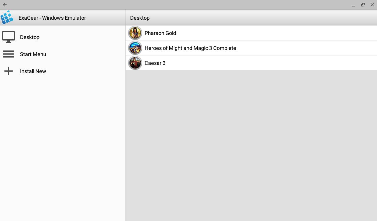 ExaGear - Windows Emulator APK Download - Android Tools