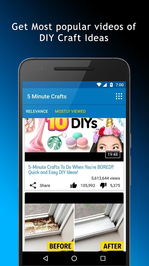 5 Minute Crafts App 1 03 Apk Download Android Lifestyle Apps
