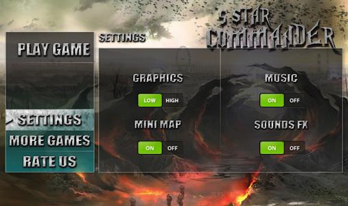 5 Star Commander - FPS Shooter 1.0 screenshot 8
