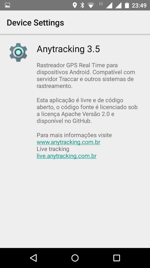 GPS Tracker hidden secreto 3 7 APK Download - Android Tools Apps