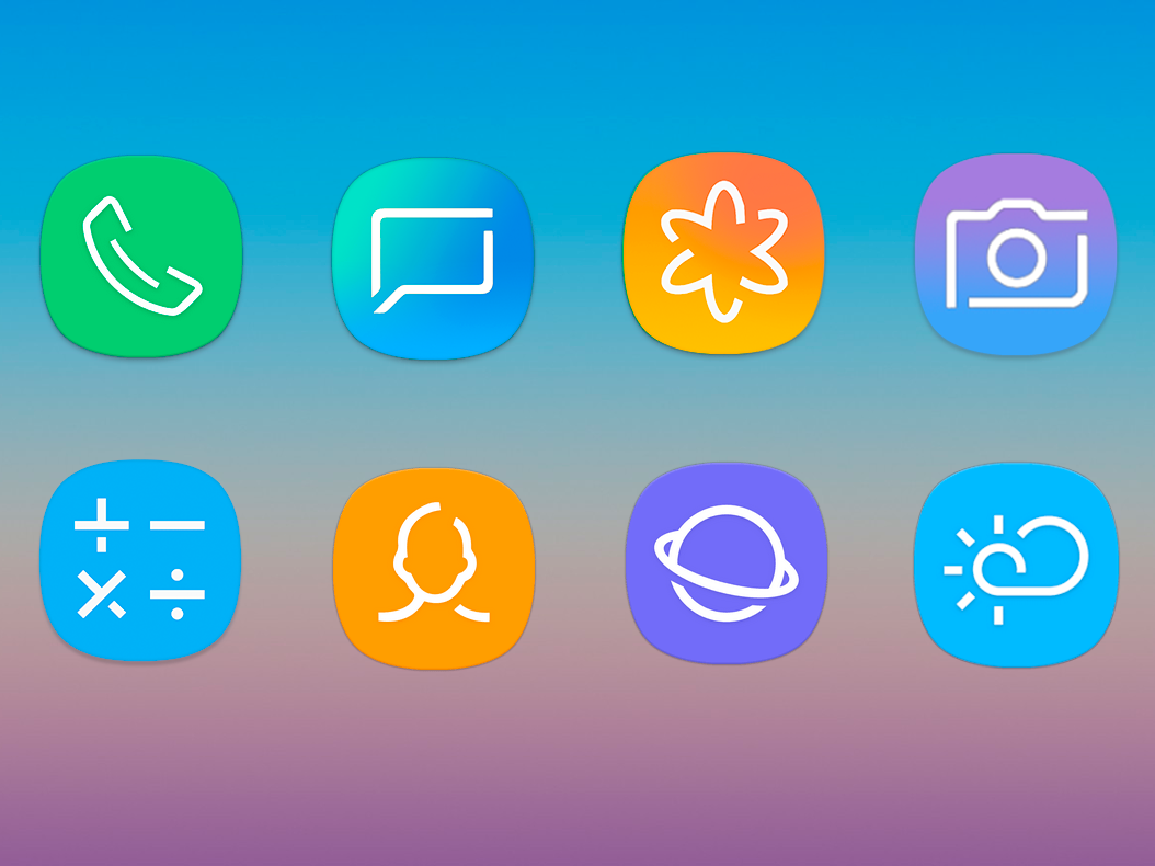 UX S9 Icon Pack - Free Galaxy S9 Icon Pack 8 0 9 APK Download