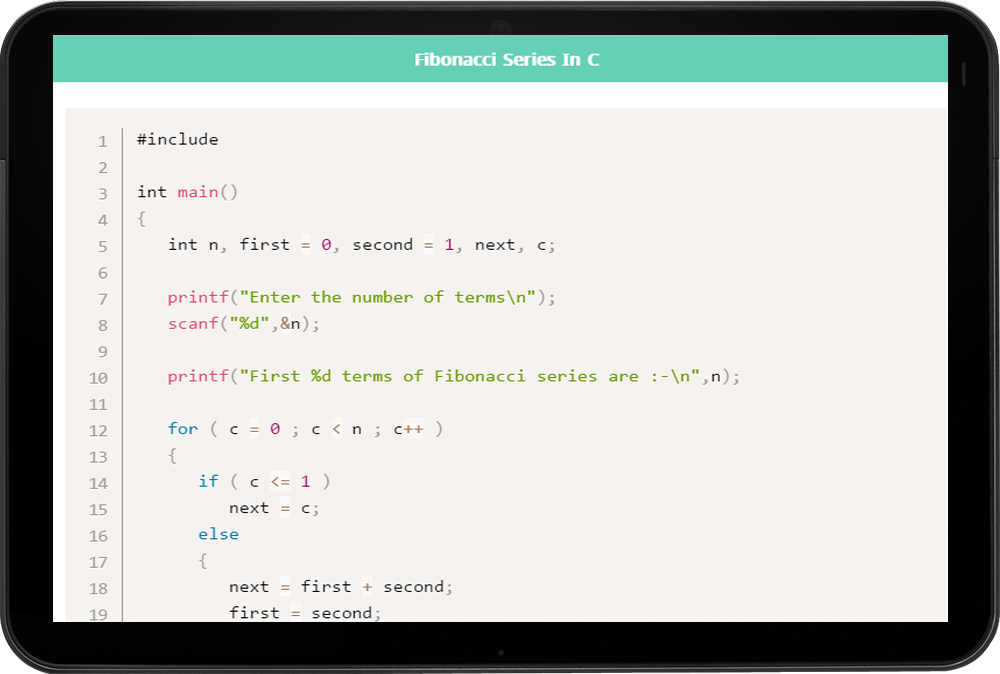 C Programming with Examples 1 0 2 APK Download - Android