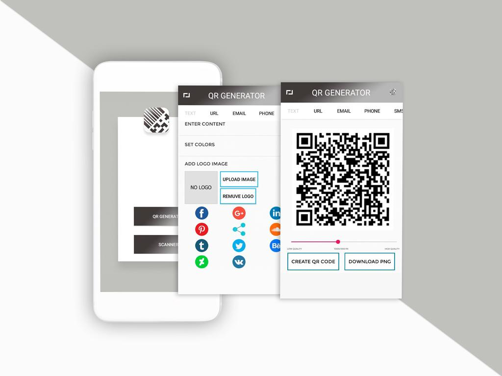 download android apps with qr code
